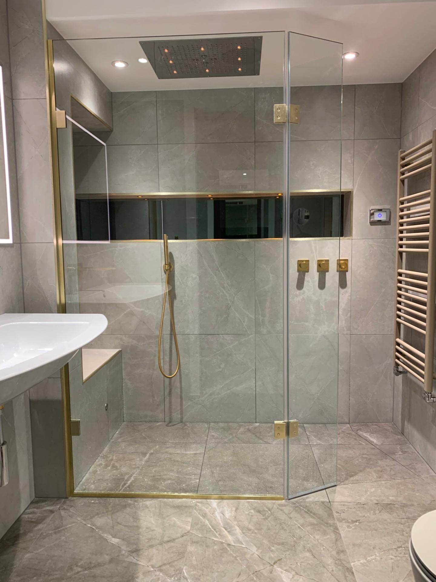 walk in shower ideas — love renovate
