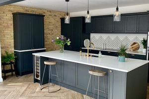 Renovation tour - a kitchen extension with a modern industrial finish