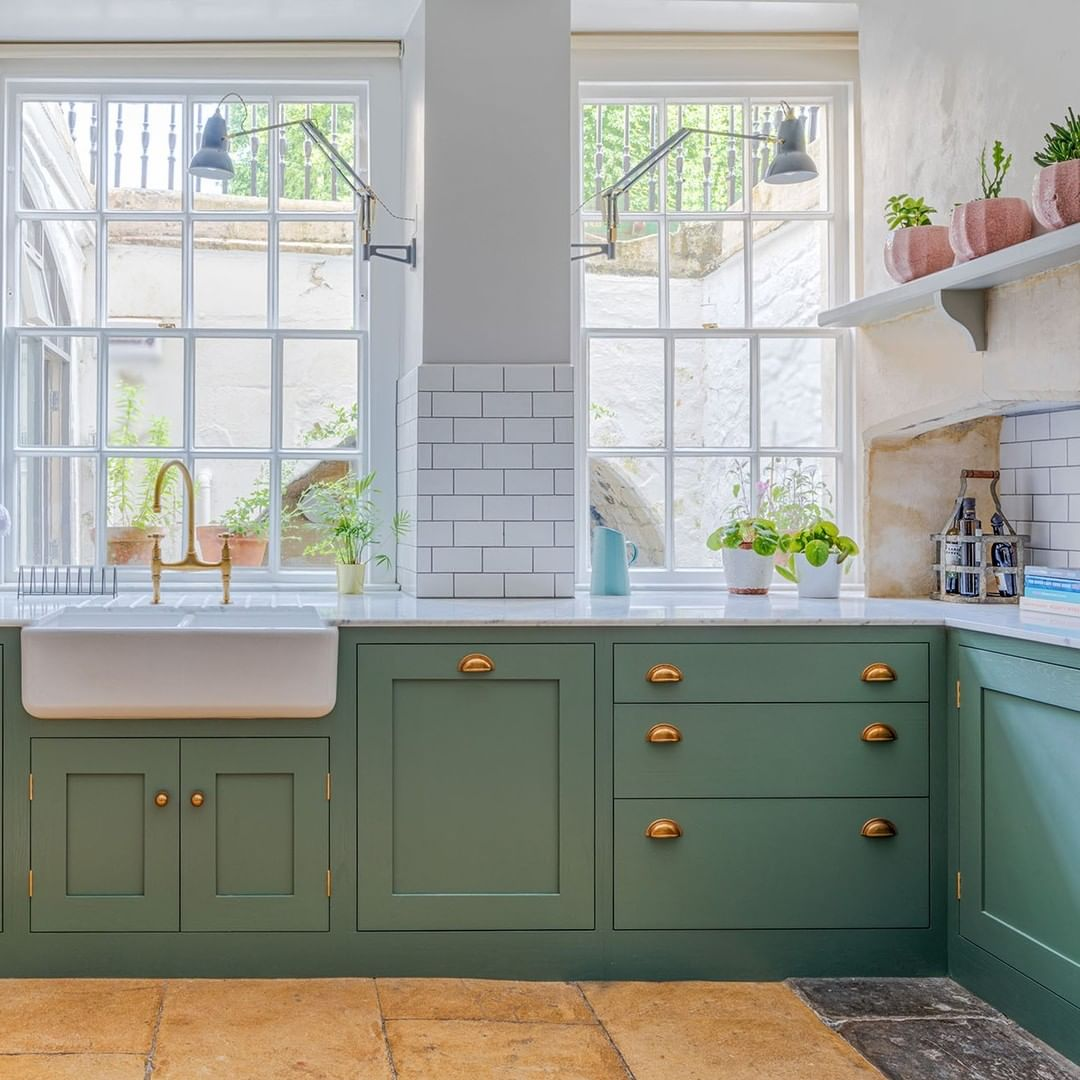 51 Green Kitchen Designs: Inspiring Green Kitchens