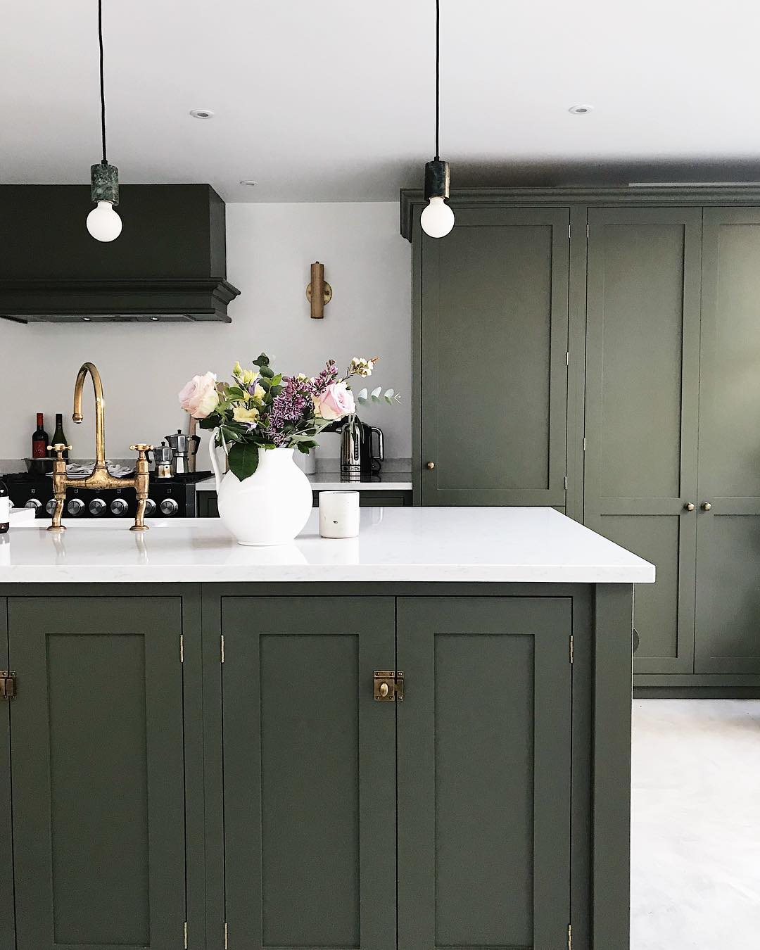 13 Green Kitchens To Give You Inspiration Love Renovate