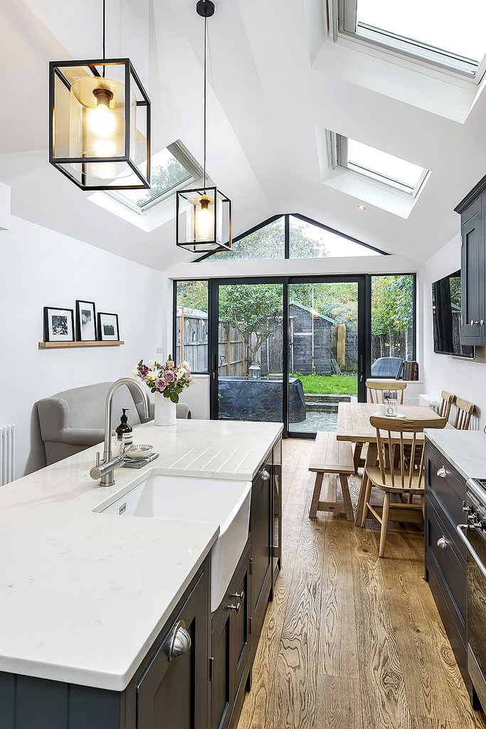How To Get More Light Into A Kitchen Extension Love Renovate