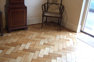 Expert advice - parquet flooring restoration
