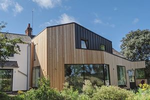 A Contemporary Extension In A Conservation Area
