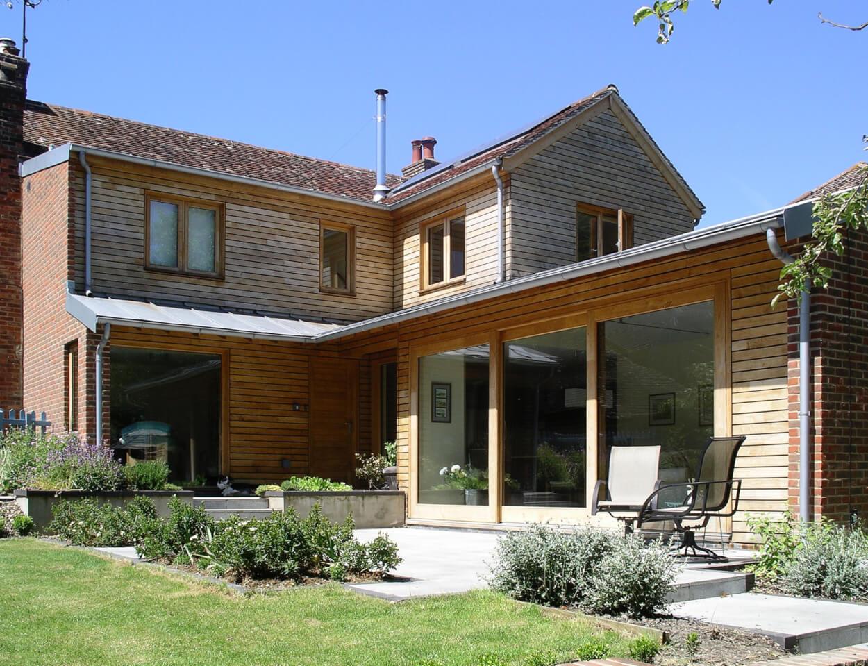 eco friendly renovation by Koru Architects