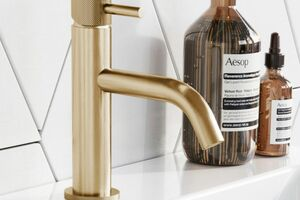 Brass bathroom taps are having a real moment, adding an instant stylish update to your bathroom.