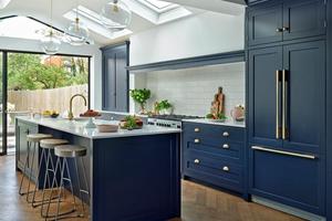 11 Beautiful Blue Kitchens