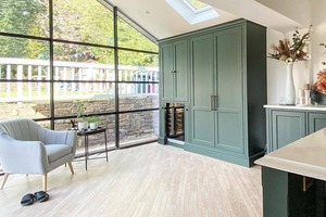 A three storey extension has created the most beautiful family living space