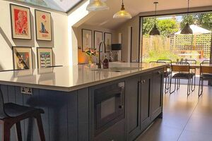 This kitchen in this beautiful Victorian terraced home was a scroll stopper for us the moment we laid eyes on it.