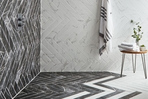 5 Of The Best Marble Effect Bathroom Tiles