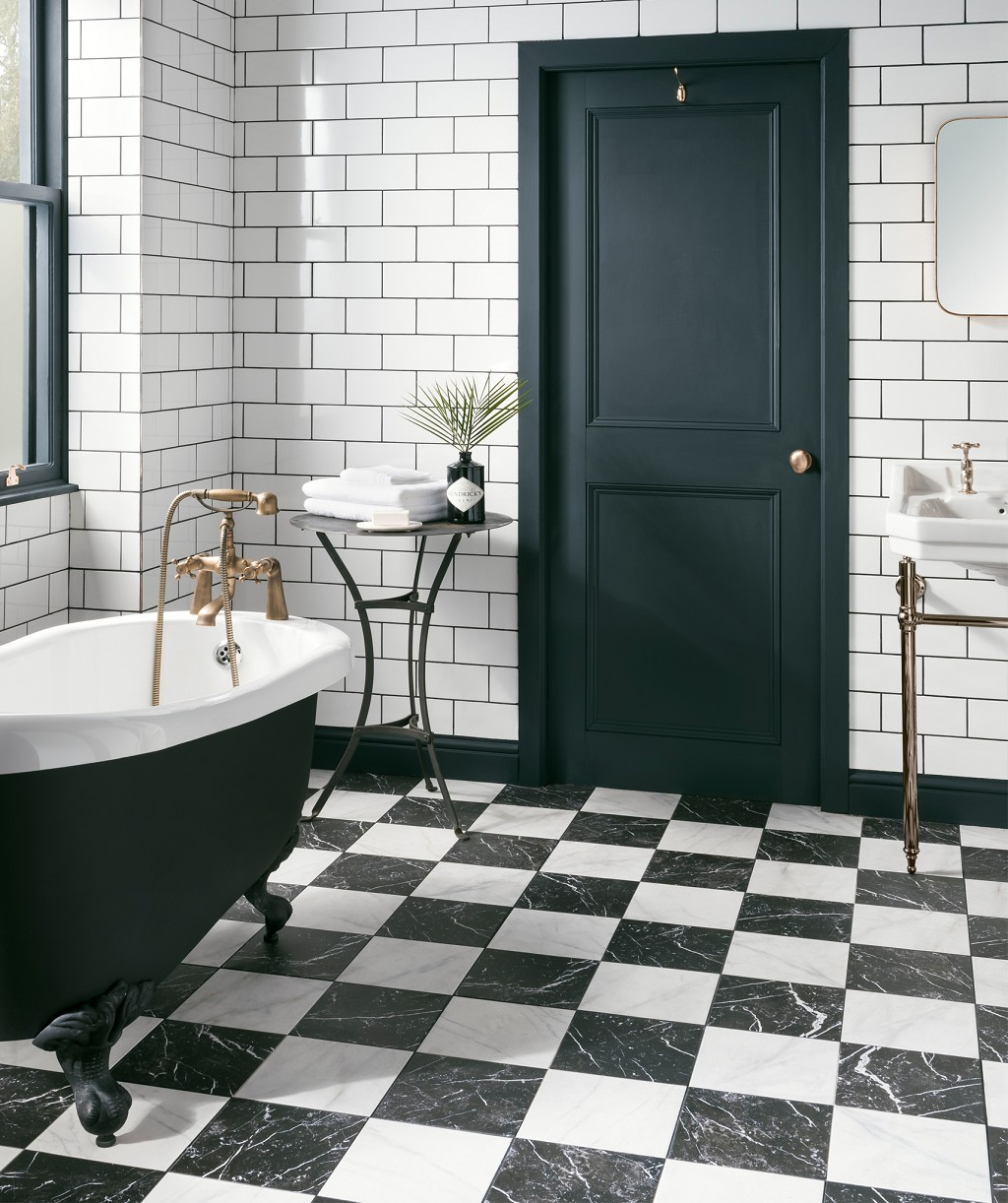 5 Phenomenal Bathroom Tile Combinations: 5 Of The Best Marble Effect Bathroom Tiles