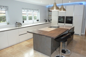 Kitchens are the heart of a family home so it's important that this area is practical and functional to suit all ages.